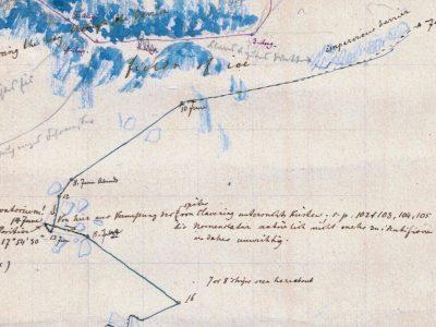 Neues Fundstück: Bruno Hassenstein an der ostgrönländischen Eisgrenze
