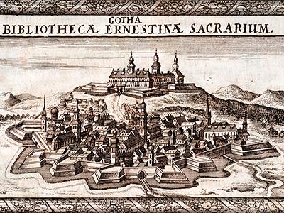 """Gratulation zur Verleihung des Titels """"Reformationsstadt Europas"""" an die Stadt Gotha"""