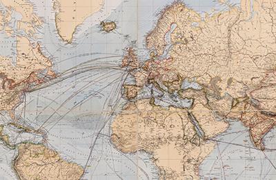 Alexander Merensky – zwei Karten eines Missionars aus Deutsch-Ostafrika
