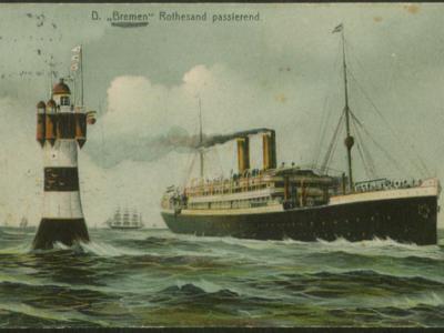 Fundstück: Historische Postkarte aus der Auswandererbriefsammlung