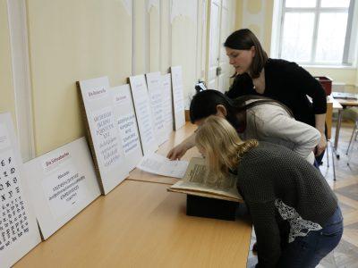 Auf Zeitreise in der Forschungsbibliothek Gotha