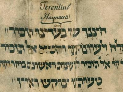 Vortrag zu hebräischen Einbandfragmenten in der Forschungsbibliothek Gotha