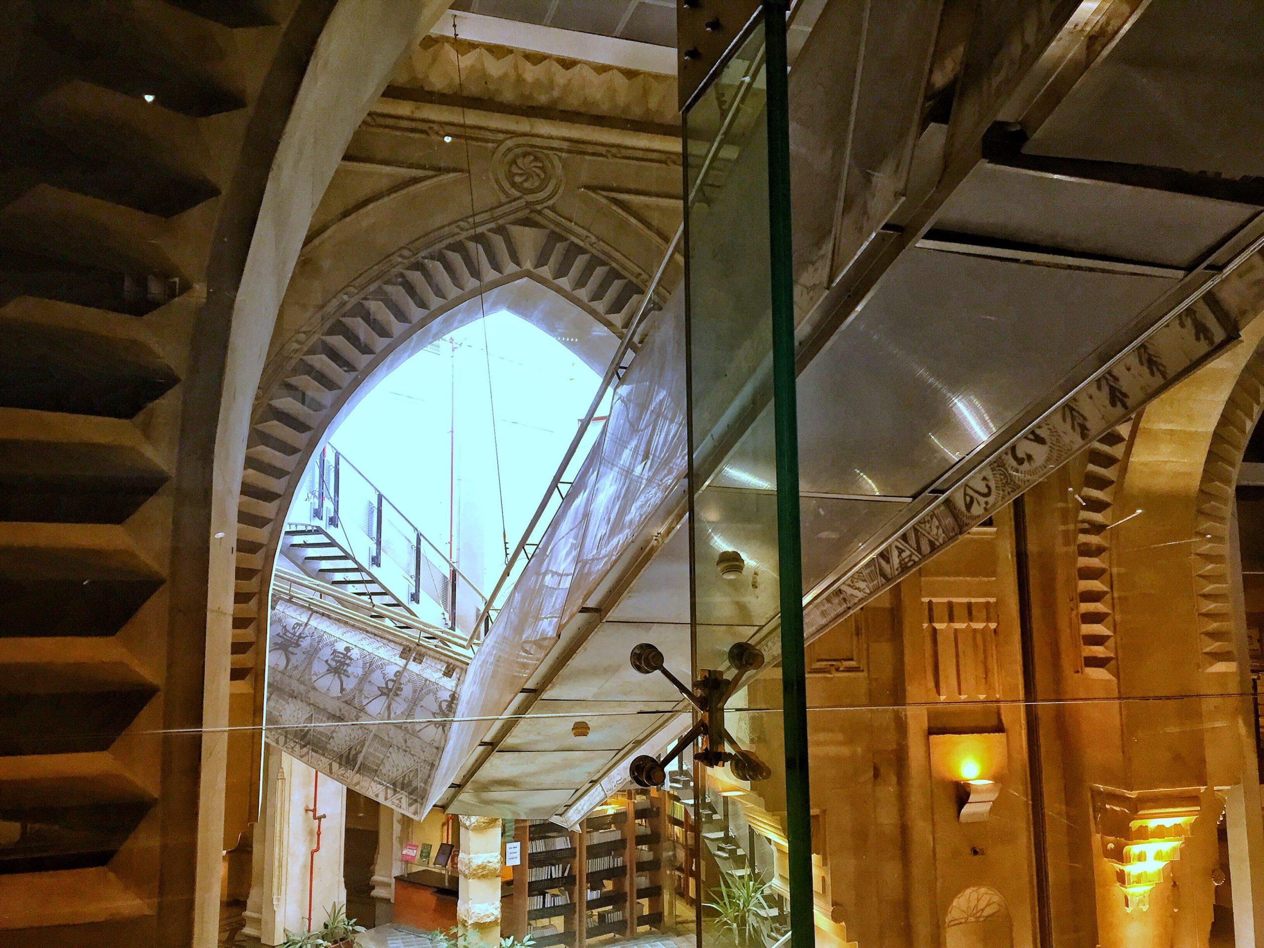 Die ägyptische Nationalbibliothek Dar al-Kutub