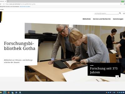Neue Homepage der Universität Erfurt ist online