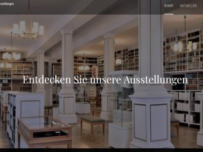 Vorstellung der digitalen Ausstellungsplattform der Forschungsbibliothek Gotha