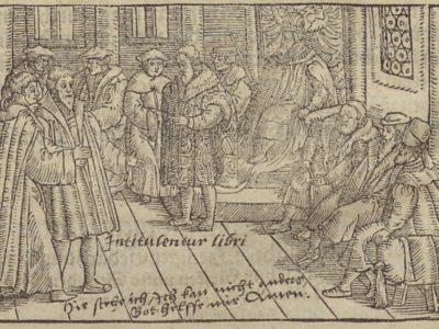 Augenzeugenbericht der Luthersache auf dem Reichstag zu Worms 1521