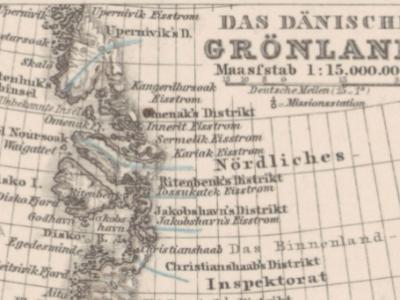 Samuel Kleinschmidt und die Arktis-Kartografie zwischen Nuuk und Gotha
